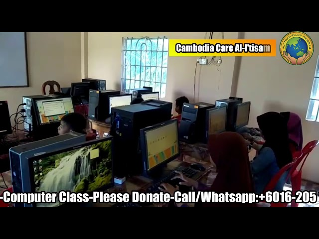 CAMBODIA CARE : Help Save Cambodian School Dropouts - Give Them A Second Chance For An Education