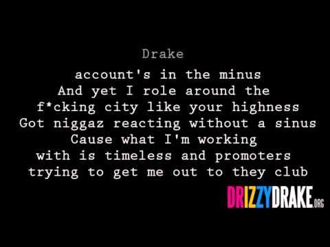 Drake - Say What's Real Lyrics [VIDEO]