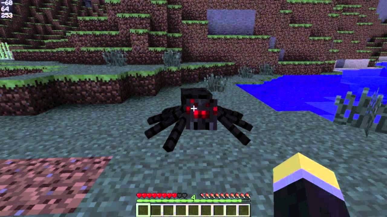 Minecraft mob fighting mod