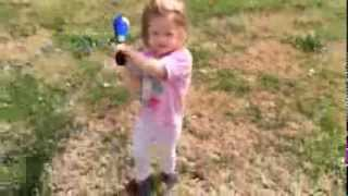 Addy's First Baseball HIT! Thumbnail