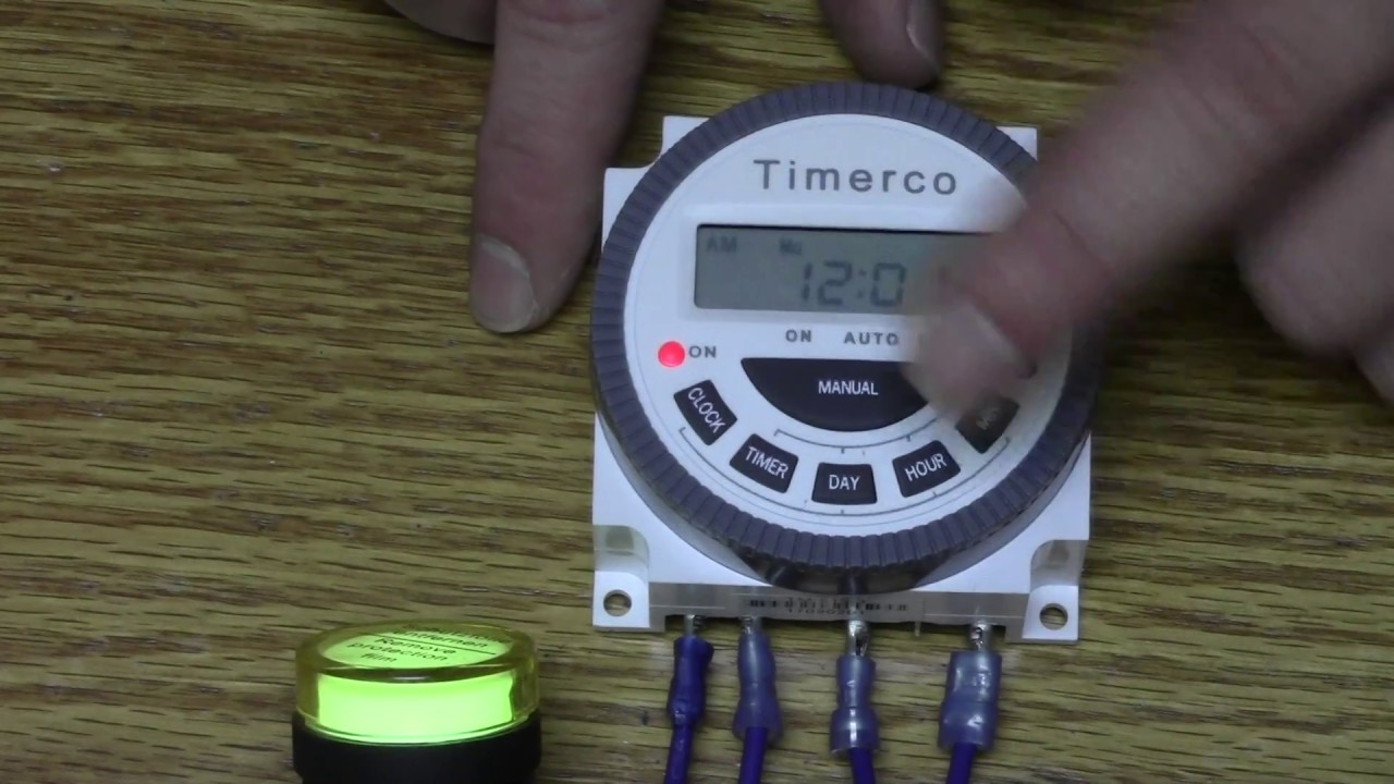 Tutorial Video for the Frontier TM619 by Timerco.com on