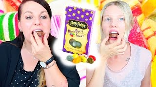 Candy Challenge | International | Ekelige Bohnen | Outtakes | Isabeau