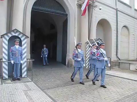 Prague Castle - Czech Republic - Changing the Guards.