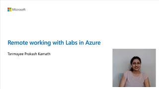 Remote working with Labs in Azure | BOD119
