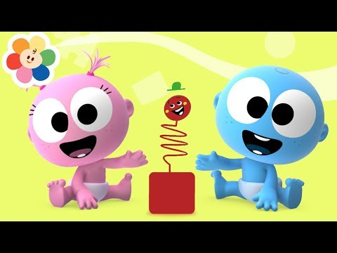 The Laugh Song With GooGoo & GaaGaa   1 Hour Compilation   Classical Music For Babies + Color Crew