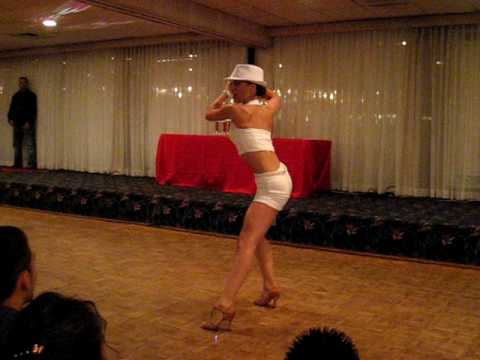 CRISTINA SANTANA -TOP FEMALE SALSA DANCER COMPETITION  FINALS