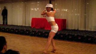 CRISTINA SANTANA -TOP FEMALE SALSA DANCER COMPETITION  FINALS