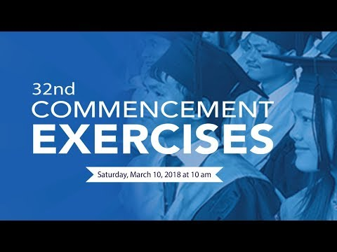 32nd Commencement Exercises