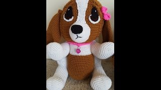 This is Crochet Hound Dog Part 2 of 2. There is a separate video tu...