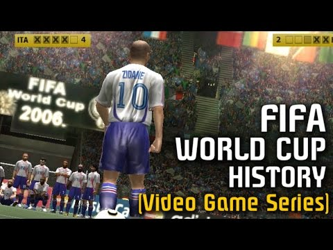 FIFA WORLD CUP HISTORY (US Gold & EA Sports Video Game Series) 1994-2014