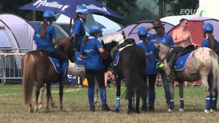 Les championnats d'Europe Pony-Mounted Games