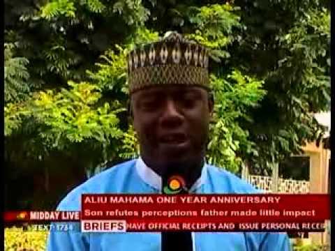 Midday Live: ALIU MAHAMA'S son refutes...
