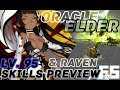 Kali Spin Off Class : Oracle Elder (and Raven) Skills Preview - Dragon Nest Update