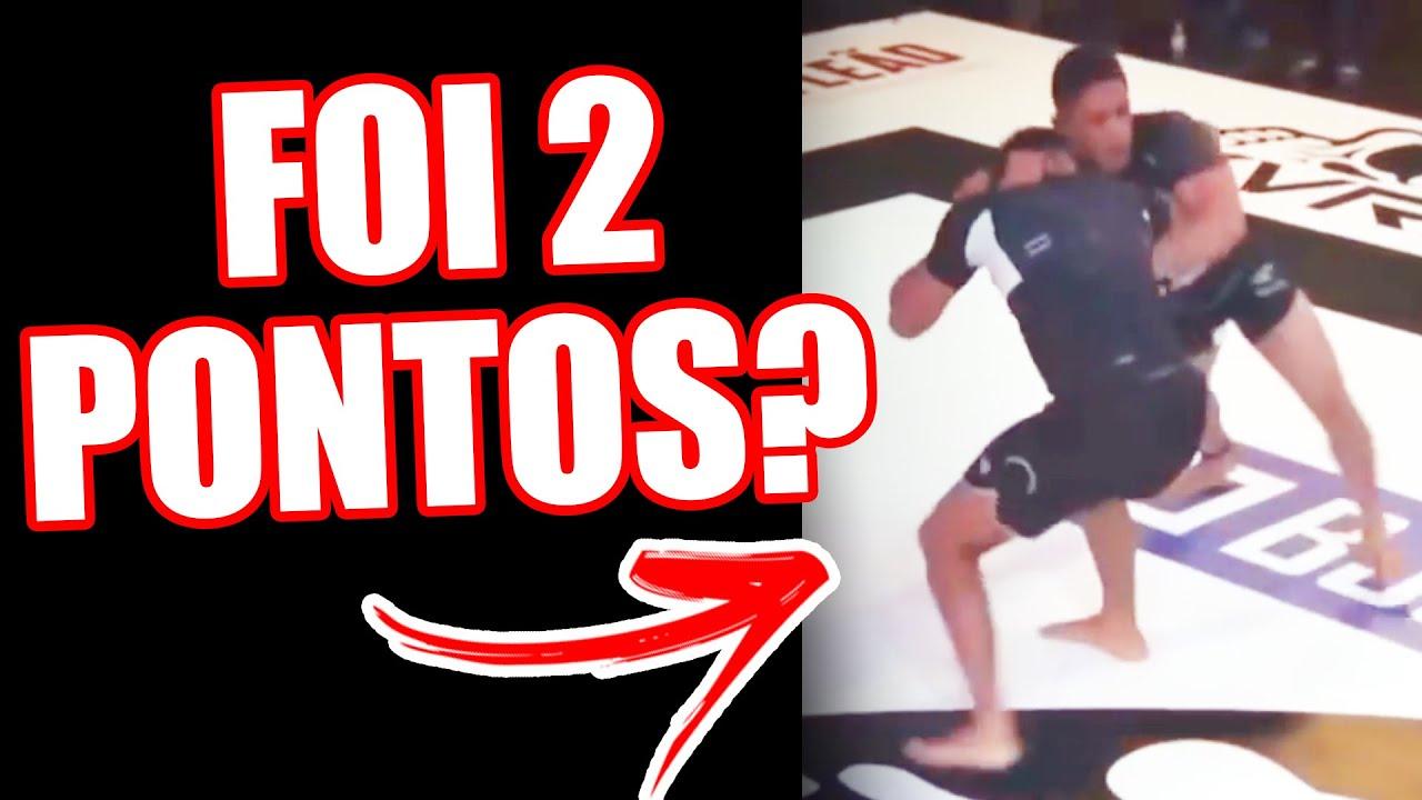 MICA GALVAO X MAURICIO OLIVEIRA - FOI DOIS PONTOS? #BJJBET