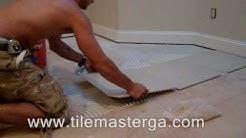 """Tile installation in Atlanta GA - 20""""x20"""" porcelain tiles on slab floor - How to -, Alpharetta"""