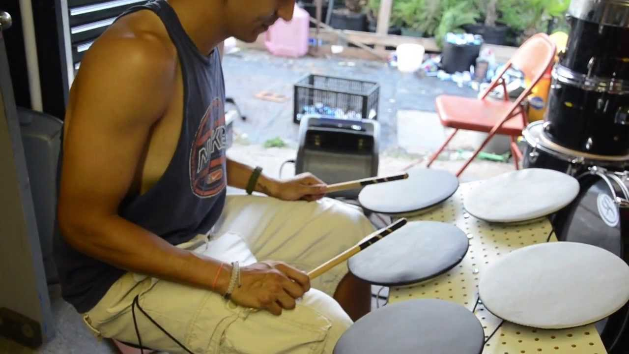 Diy electronic drum pads for midi and simple drum kit youtube solutioingenieria Images