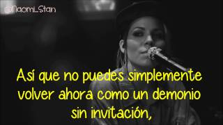 Skylar Grey - Back From The Dead ft. Big Sean and Travis Barker (Lyrics - Subtitulos en español)