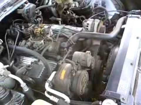 1985 Trans Am with 305 Small Block Chevy (OPEN MANIFOLDS)