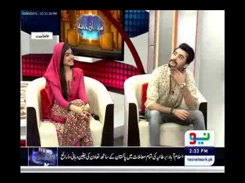 Mehman Khana 28 June 2015 with Ejaz Waris, Amanat Ali & Kinza