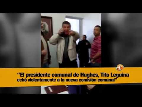 Hughes el intendente saliente echó al electo de la Municipalidad