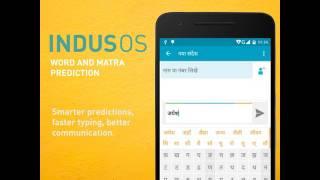 Word & Matra Prediction on Indus OS