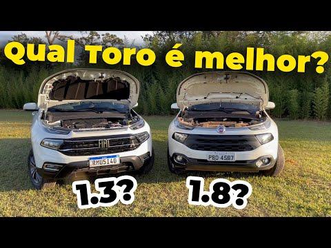 A FIAT TORO 1.3 TURBO MELHOROU EM RELAÇÃO A 1.8?