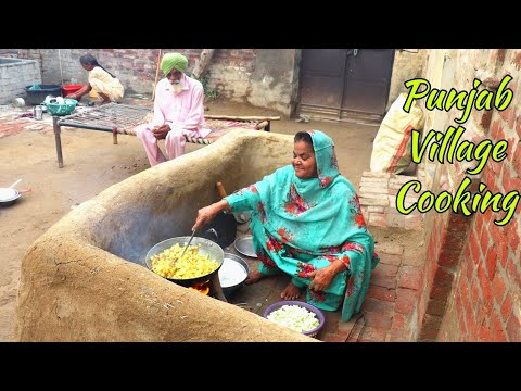 Dinner Preparation Kitchen Routine 2019💕Indian Rural life of Punjab💕 Villager life of Punjab/India