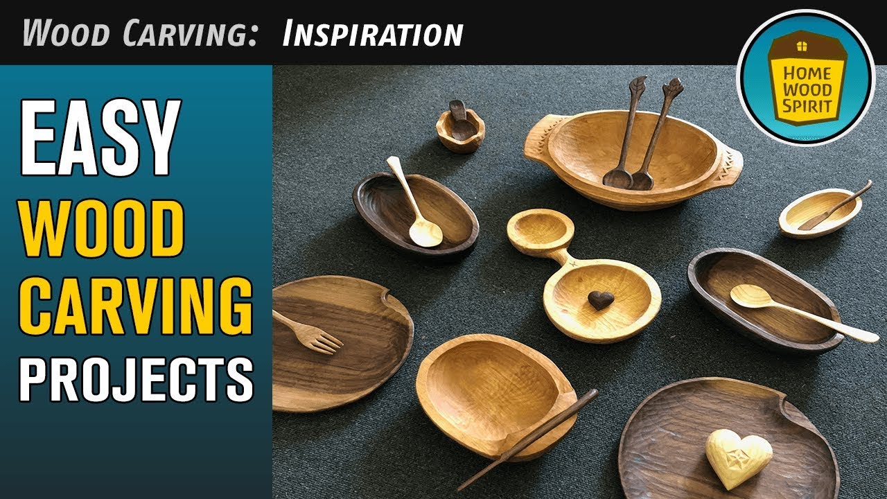 Easy Wood Carving Projects 2019