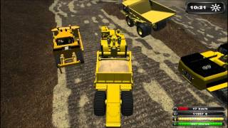 Repeat youtube video Chantier / Travaux / Baustelle #2 : Farming Simulator 2011