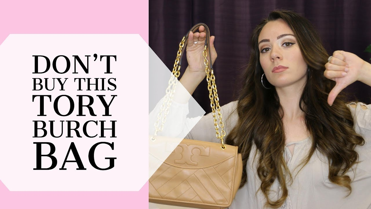 a1d042f57fd TORY BURCH ALEXA BAG REVIEW - YouTube