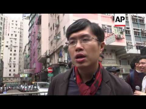 Protests as Beijing's pick chosen as HKong leader