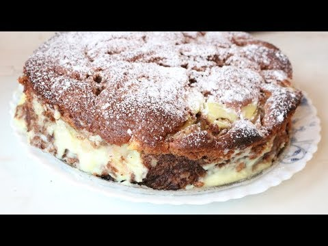 Bakina kuhinja - sjajan sočni kolač sa bananama i pudingom