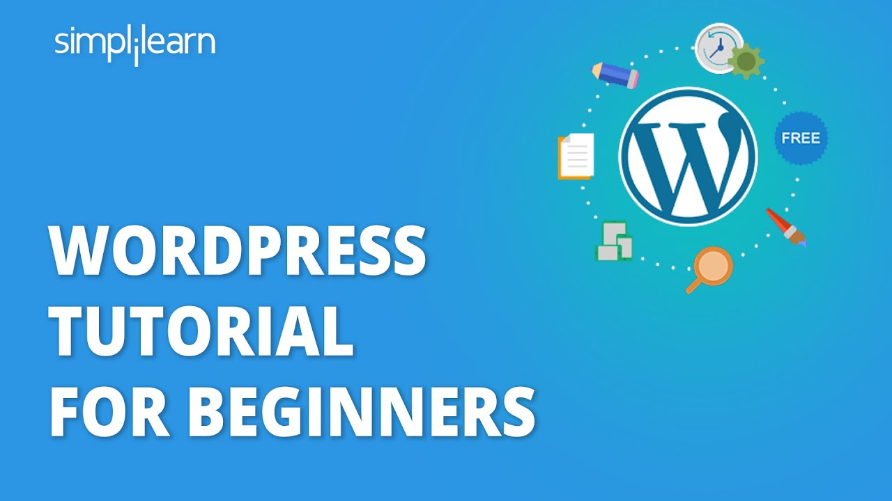 Wordpress Tutorial For Beginners | Complete Wordpress Tutorial | Learn Wordpress