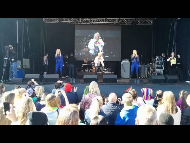Sigga & OneVoice Live at Reykjavik Pride concerts in Harpa and Arnarhóll - Á þitt vald
