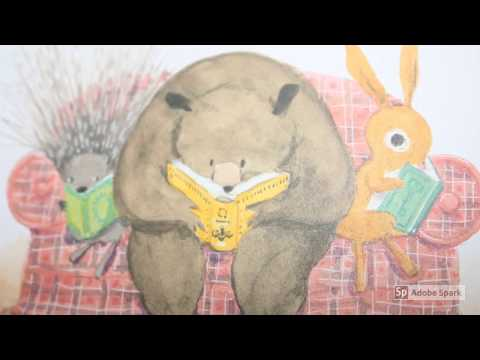 Bunny's Book Club | Read Aloud For Kids | By Annie Silvestro