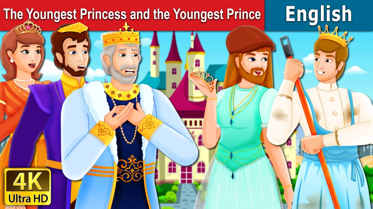 Download The Youngest Princess and The Youngest Prince Story   Stories for Teenagers   English Fairy Tales