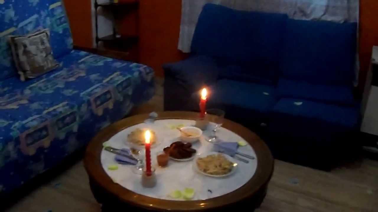 Cena romantica sorpresa cena2 100 5859 youtube - Cena romantica a casa ...