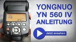 Yongnuo 560 IV Deutsche Bedienungsanleitung