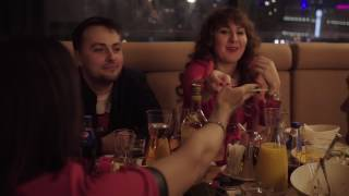 Панорамный гастрономический ресторан #Москва / Новый год 2017