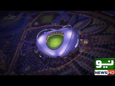 Air Condition Stadium in Qatar