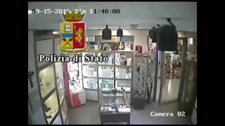 Rapina gioielleria a Lecce. Arrestato un brindisino