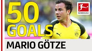 Mario Götze - All 50 Bundesliga Goals