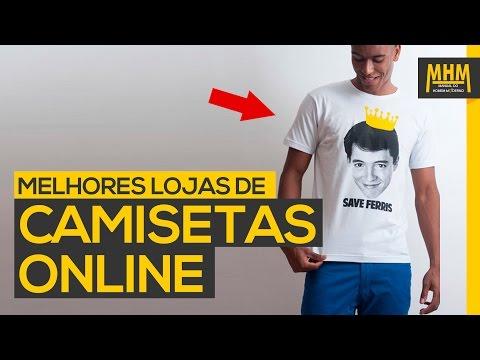 As melhores lojas de camiseta online