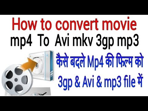 How To Convert Movies Mp4 To All File Avi Mkv 3gp And Mp3 Hindi And Urdu Video Official Shahrukh