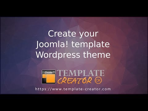 Template Creator CK V4 For Joomla!