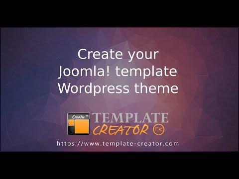 Template Creator CK V4 for Joomla!