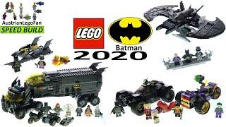 All LEGO Batman 2020 Sets Compilation - Lego Speed Build
