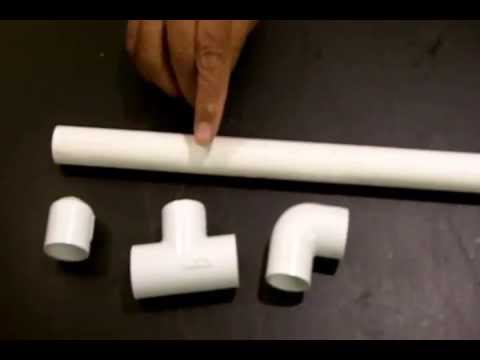 Beginner Tutorial Cut and Assemble PVC Pipe