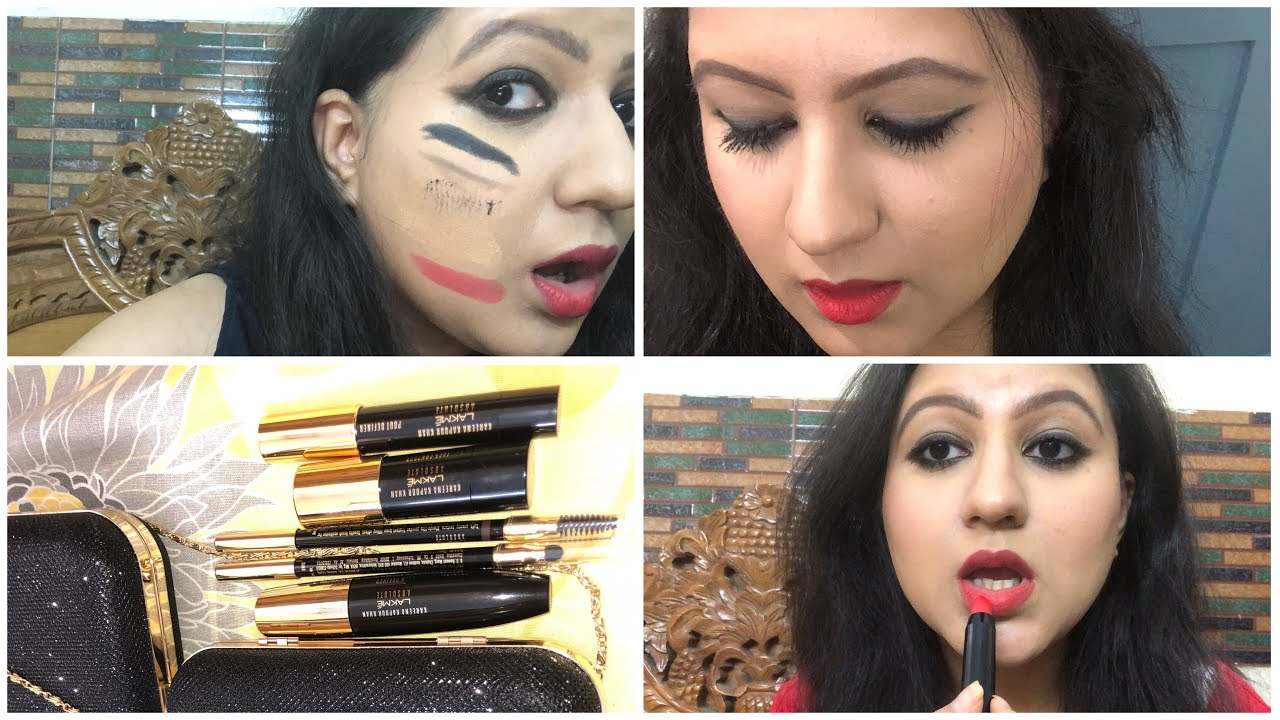 Lakme Absolute Kareena Kapoor Khan Collection First Impressions Try On Review Crazy Honest Video Youtube
