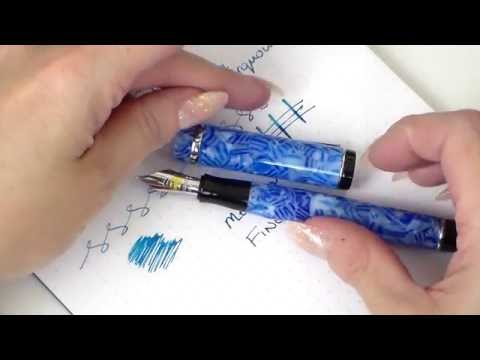 Conklin Duragraph Ice Blue - Medium Nib Review